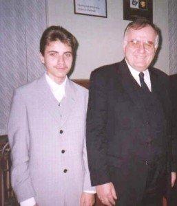 Daniel Verejanu and Walter Schwimmer